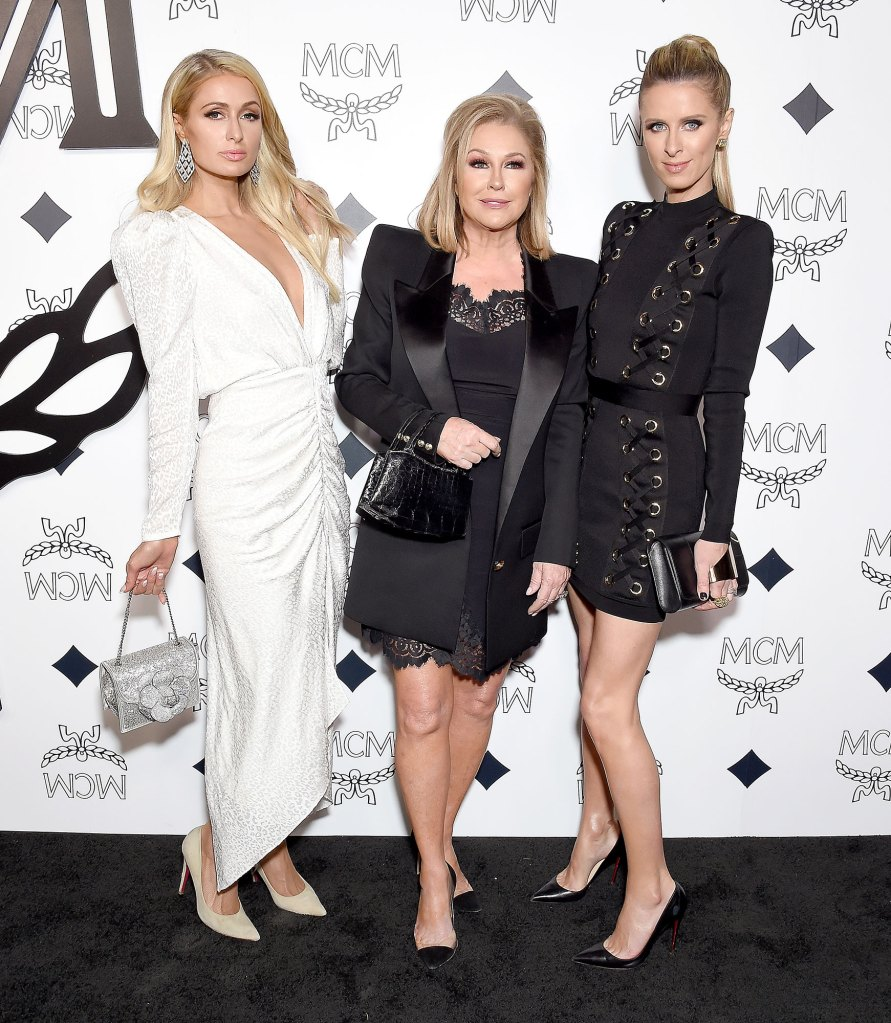 Paris Hilton, Kathy Hilton, and Nicky Hilton