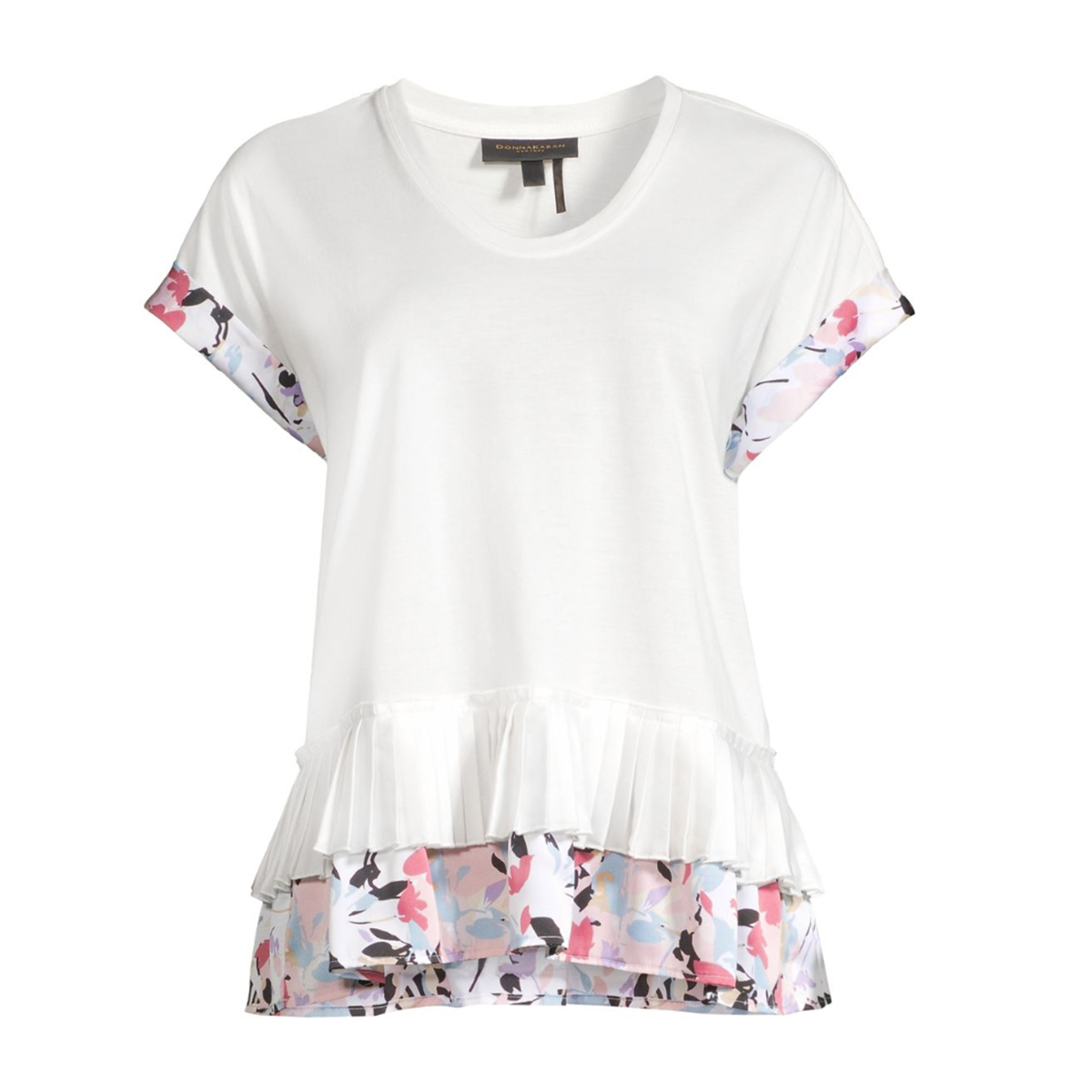 This DKNY Top Is 40% Off and Has the Perfect Floral Flourish