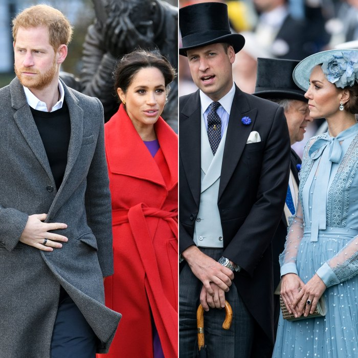 Prince Harry Duchess Meghan Split From Charity With Prince William Duchess Kate
