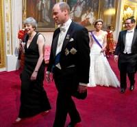 Prince-William-Duchess-Kate-Trump-reception