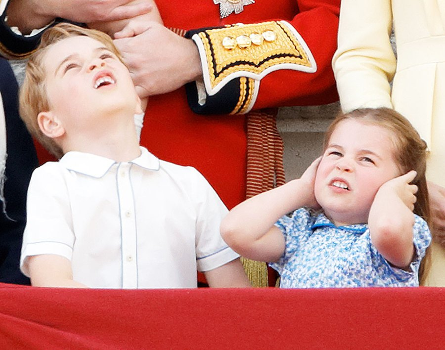 Prince George and Princess Charlotte at Trooping the Color 2019 Princess Charlottes Sassiest Faces