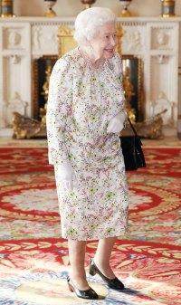 Queen Elizabeth Floral Dress June 25, 2019