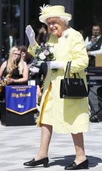 Queen Elizabeth Yellow Dress June 28, 2019