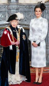 Queen Letizia Printed Dress June 17