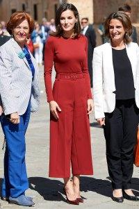 Queen Letizia Red Dress June 12th