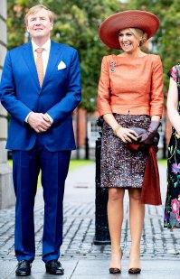 Queen Maxima Orange Look June 13th