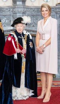 Queen Maxima Pink Dress June 17