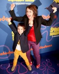 Rachel-Dratch-and-son-Eli-Benjamin-Wahl
