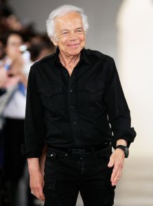 Ralph Lauren Receives an Honorary Knighthood in a Chic Suit Rather Than Shining Armor