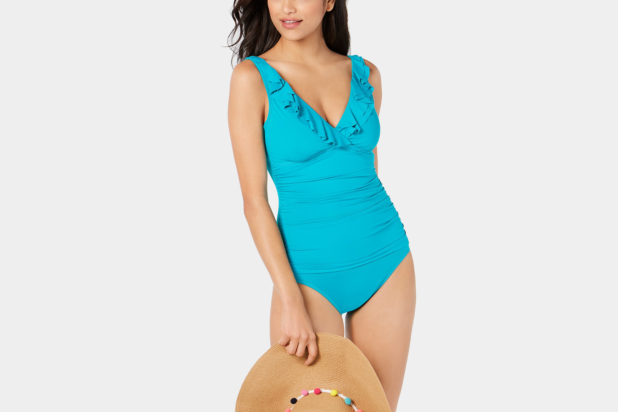 A Flattering One Piece Swimsuit That Will Have You Swimming