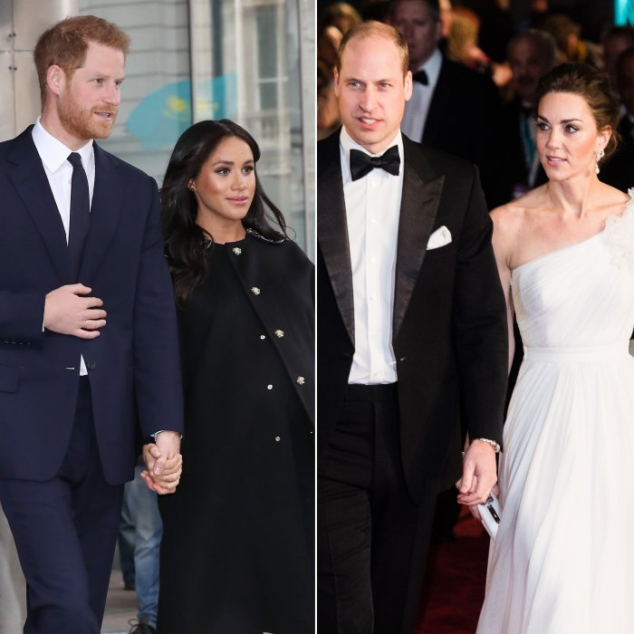 Meghan and Harry Split From William and Kate Charity