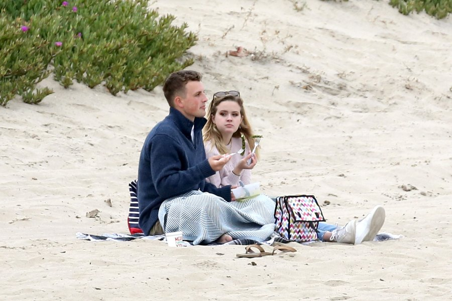 Reese Witherspoon's Daughter Ava Phillippe, 19, Spotted Kissing New Man on Beach