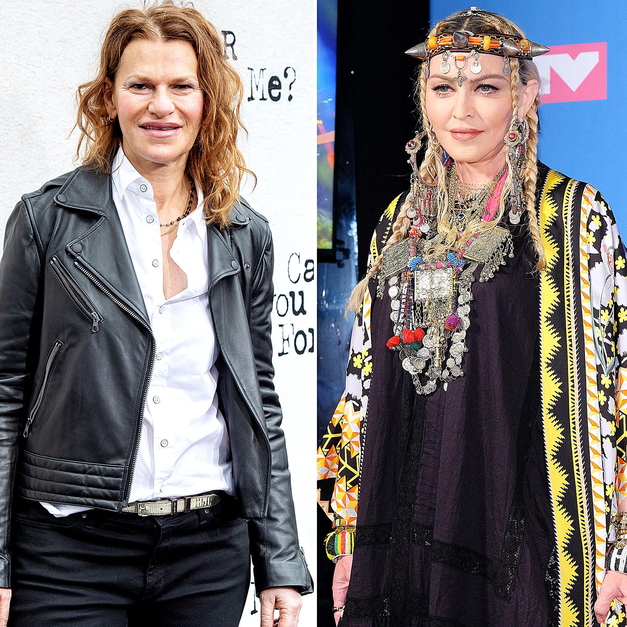 Sandra Bernhard Madonna Friends Again