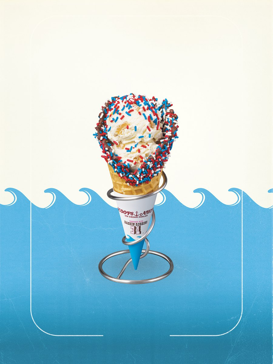 Stranger Things 3 Scoops Ahoy USS Butterscotch Fancy Cone