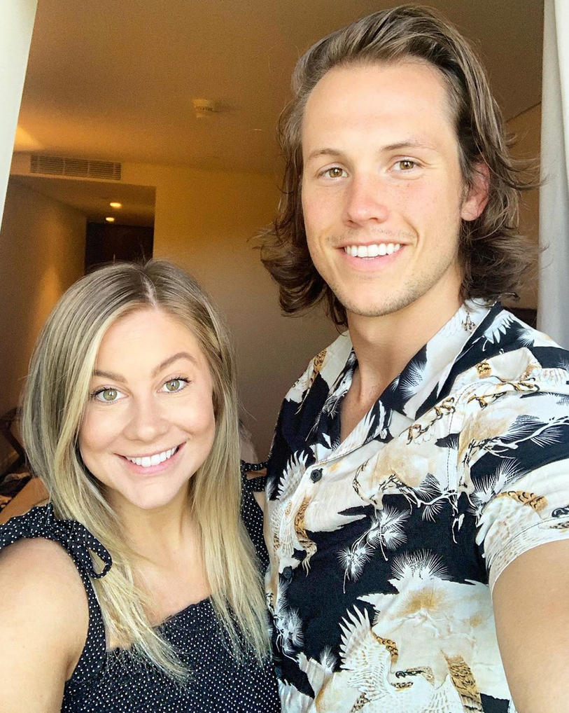 Andrew east dating shawn johnson