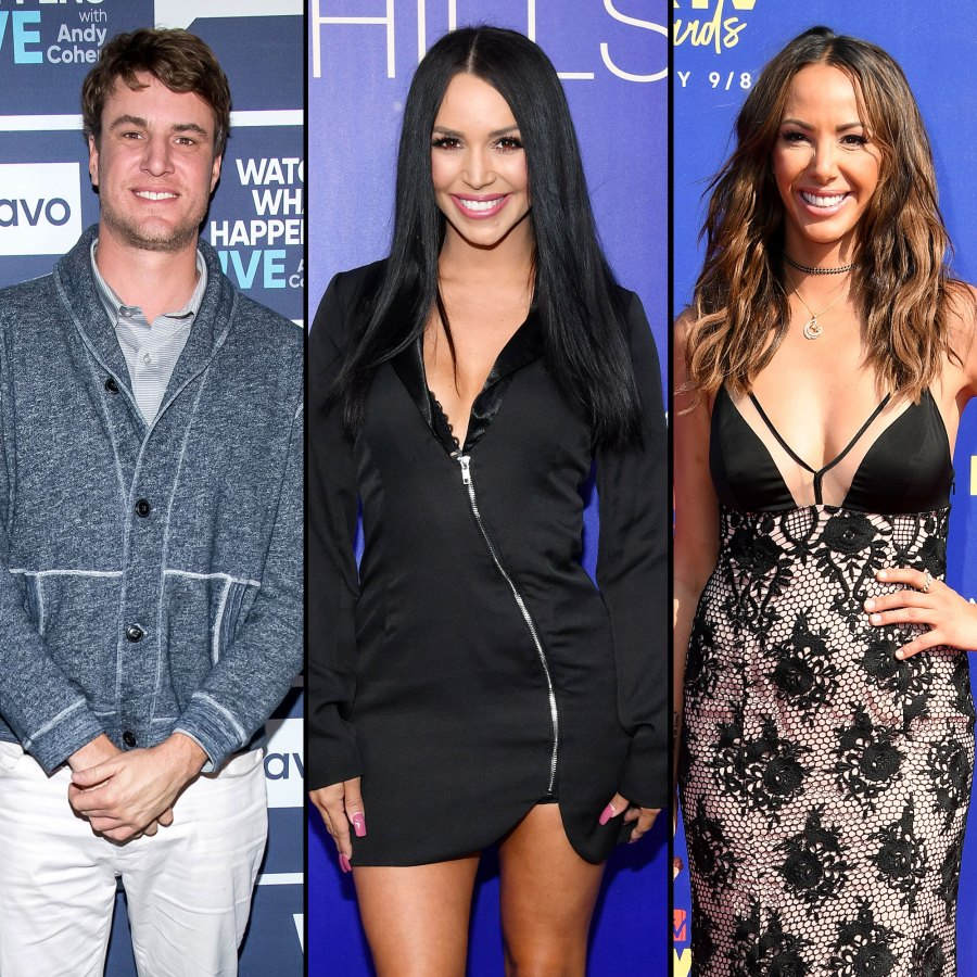 Shep Rose and Scheana Shay and Kristen Doute