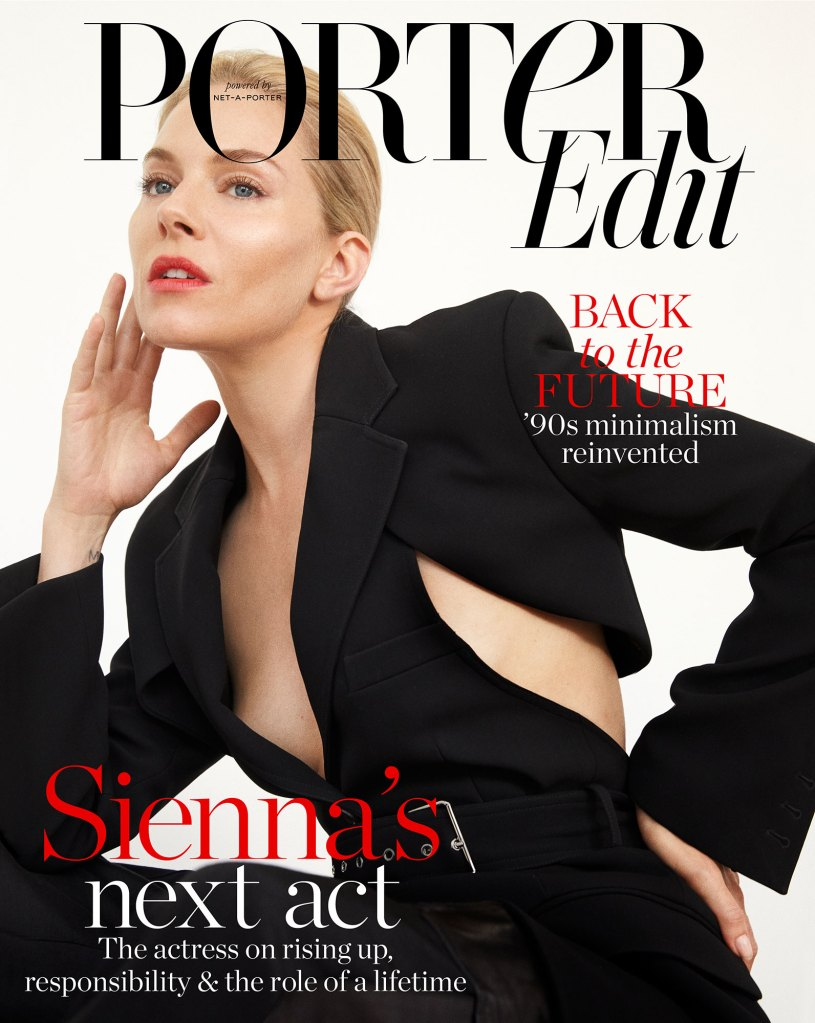 Sienna Miller On The Cover Of PorterEdit