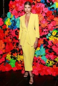 Sofia Richie Yellow Suit June 18