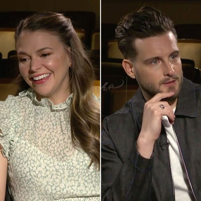 Sutton Foster and Nico Tortorella Younger Interview