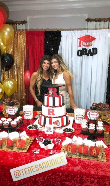 Teresa Guidice Throws Lavish Graduation Party for Daughter Gia