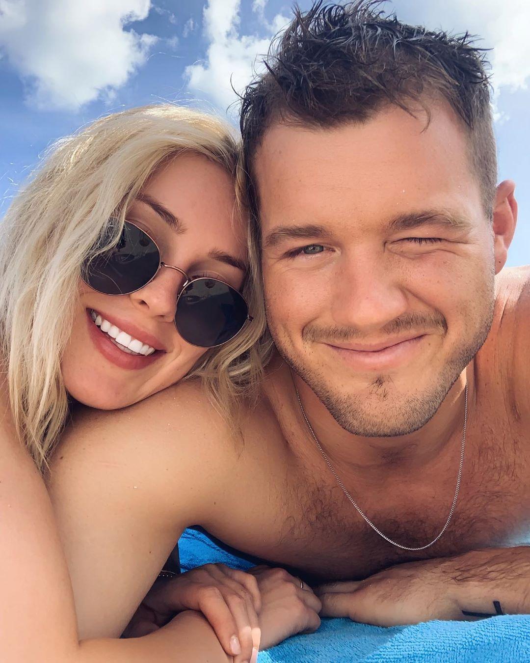 Bachelor's Colton Underwood, Cassie Randolph on Bermuda Vacation