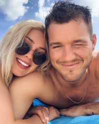 The Bachelor's Colton Underwood and Cassie Randolph Look So in Love on Bermuda Vacation Selfie