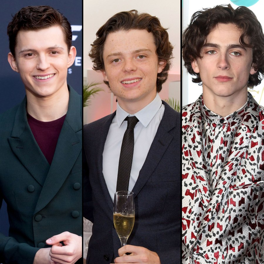Tom Holland, Sam Holland Plays Along Looks Like Timothee Chalamet