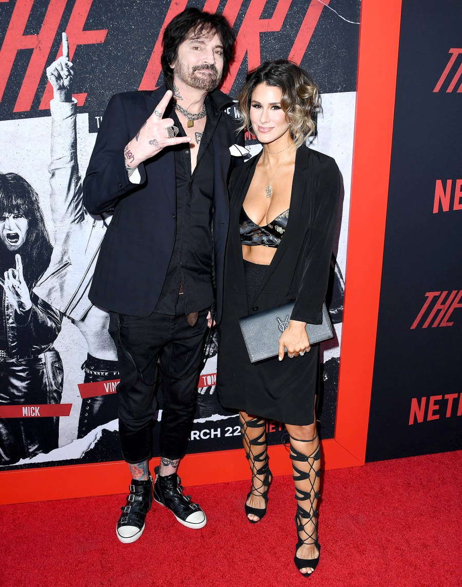 Tommy-Lee-and-Brittany-Furlan-March-2019-The-Dirt-premiere