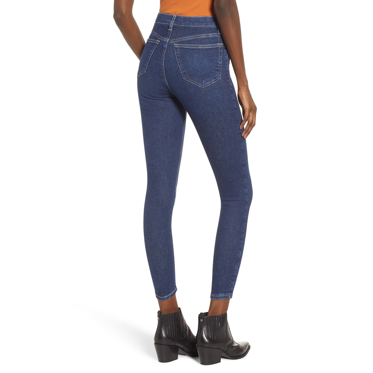 These Topshop Jeans Are 50% Off And Fit Like Stretchy Leggings
