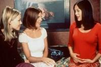 Tori Spelling, Jenny Garth, and Lindsay Price