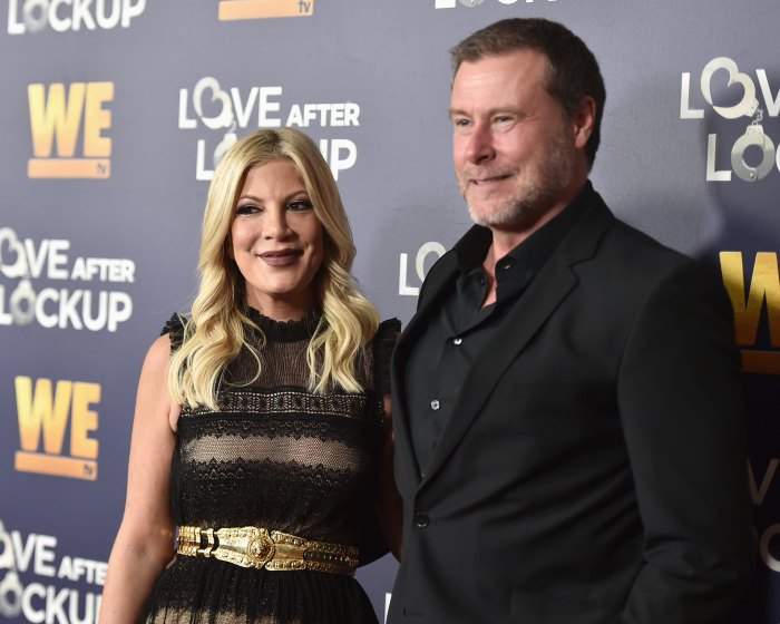 Tori Spelling Dishes NSFW Details About Dean McDermott