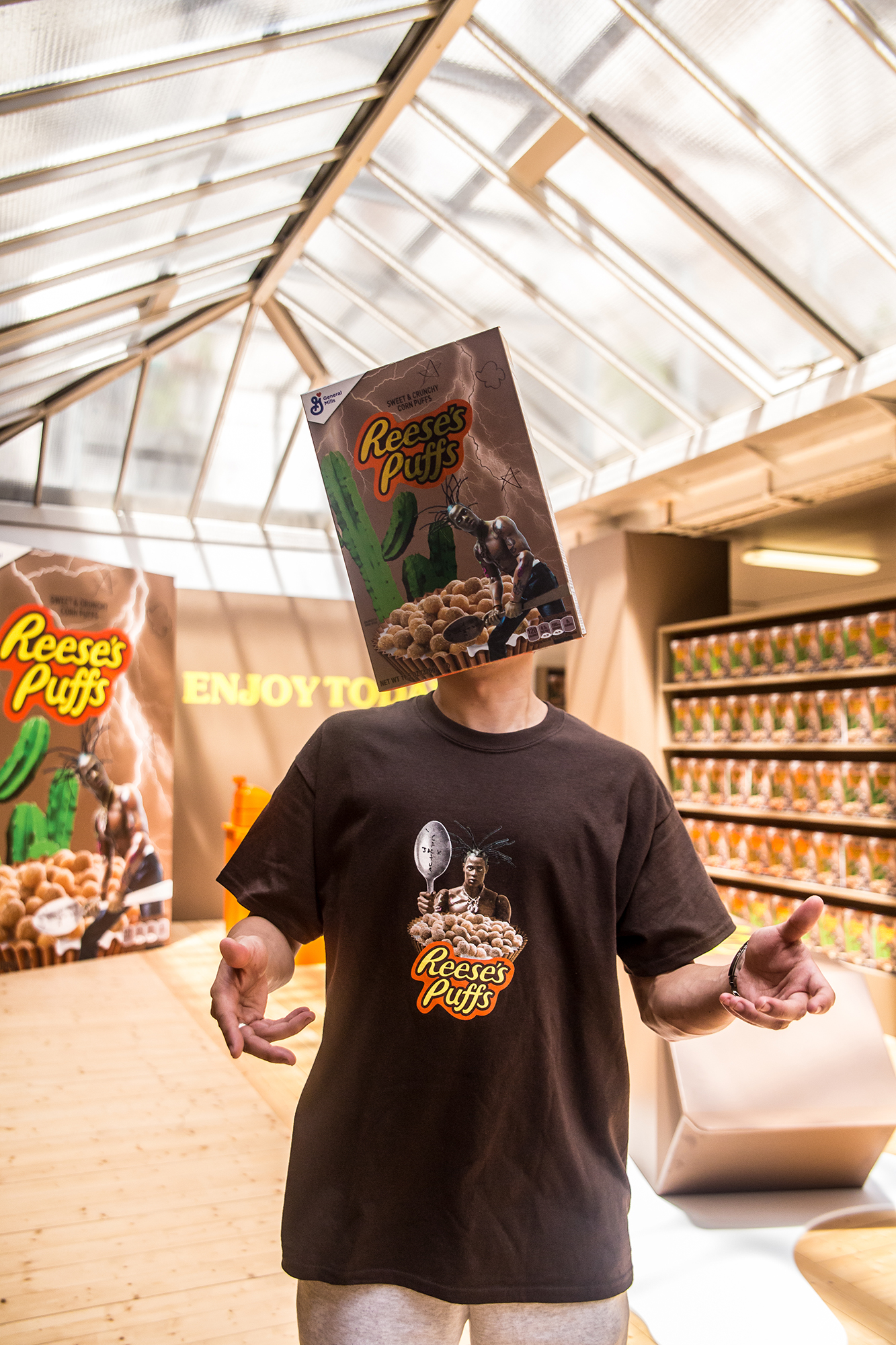 cbcb0f0dc788 Travis Scott's Reese's Puffs Collab Sold Out in 30 Seconds: Photos