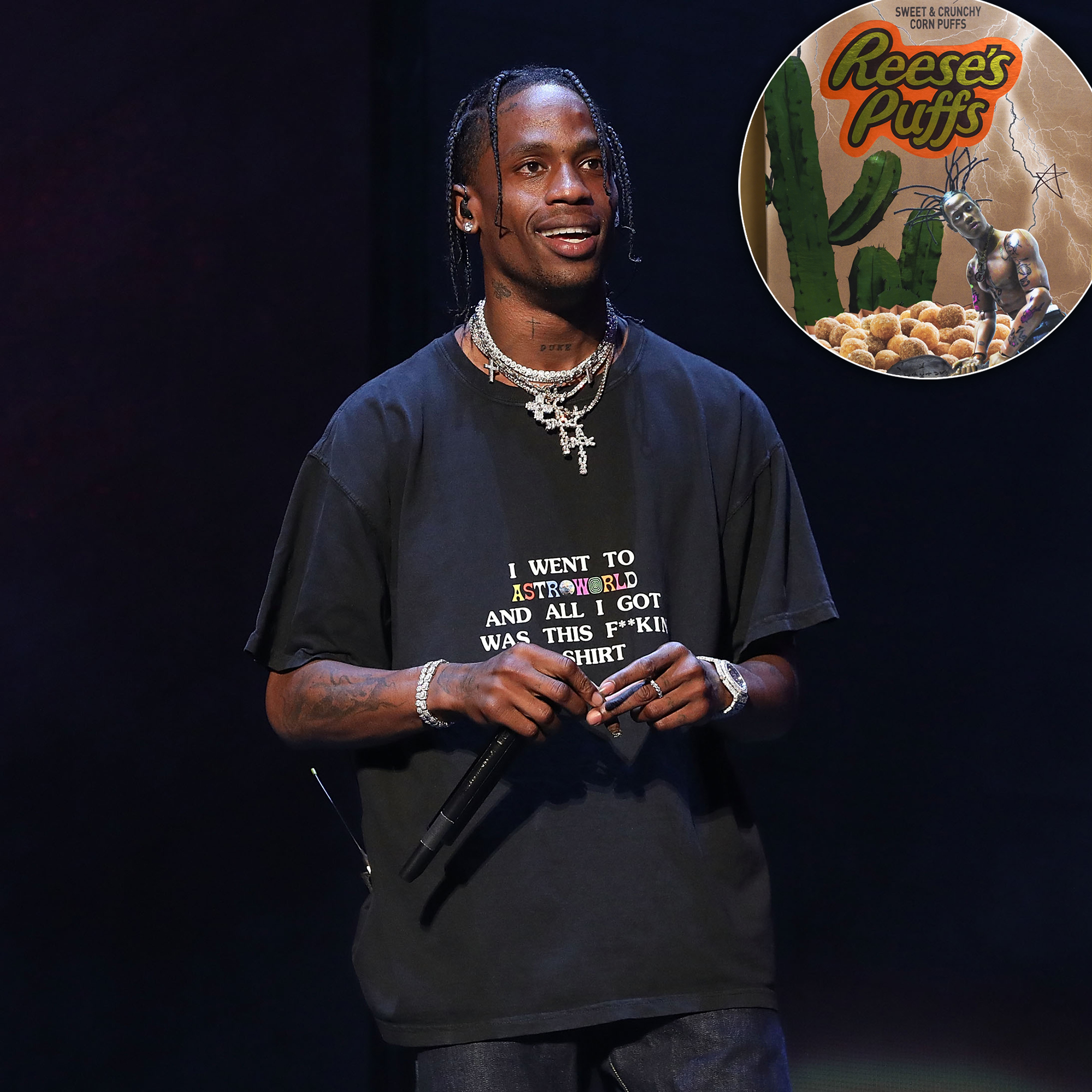 Pay Up! Travis Scott's Special-Edition Boxes of Reese's Puffs Cost HOW Much? thumbnail