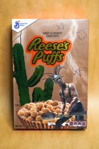 Travis Scott Reese's Puffs Special-Edition Cereal Boxes Kylie Jenner