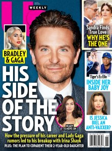 UW2619 Us Weekly Cover Bradley Cooper and Irina Shayk Split