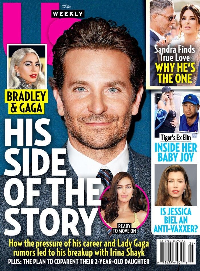 UW2619 Us Weekly Cover Bradley Cooper and Irina Shayk Split