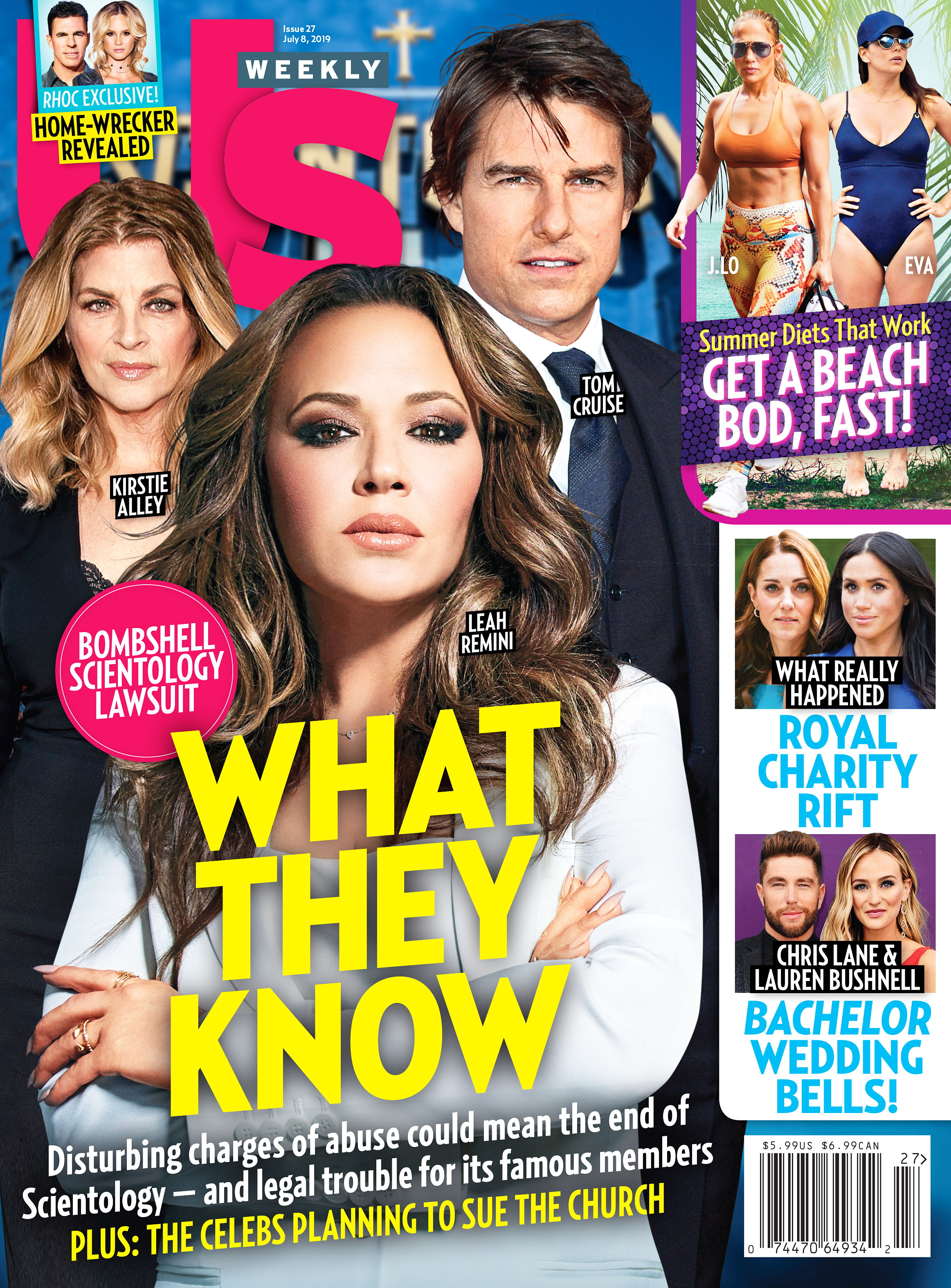 UW2719 Us Weekly Cover Scientology