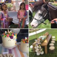 Unicorn North Penelope Kardashian Birthday Party