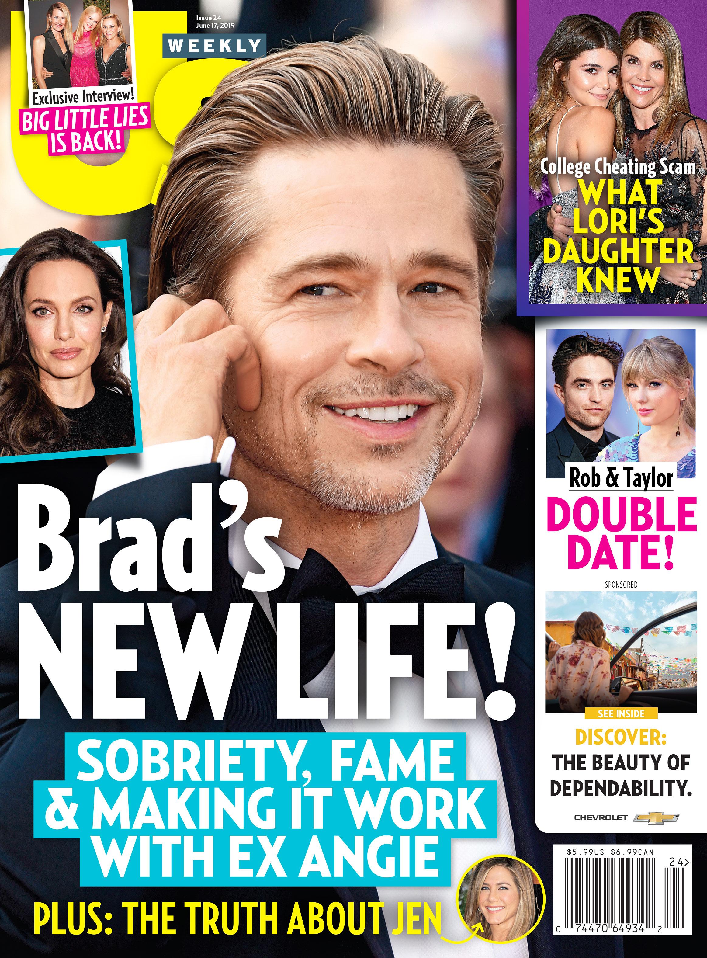 Us Weekly Cover 2419 Brad Pitt