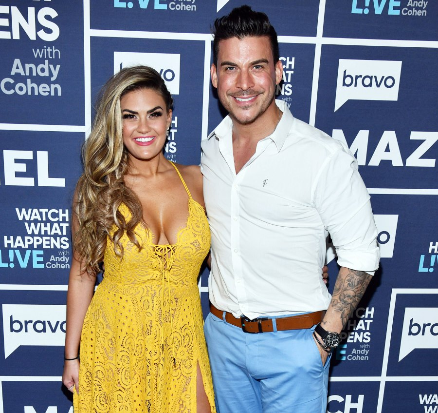 Vanderpump Rules Jax Taylor and Brittany Cartwright on Watch What Happens Live With Andy Cohen Wed in Kentucky