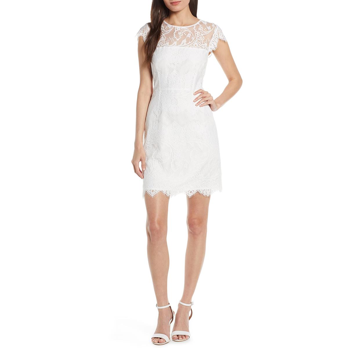 White BB Dakota Dress