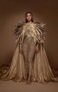beyonce lion outfit