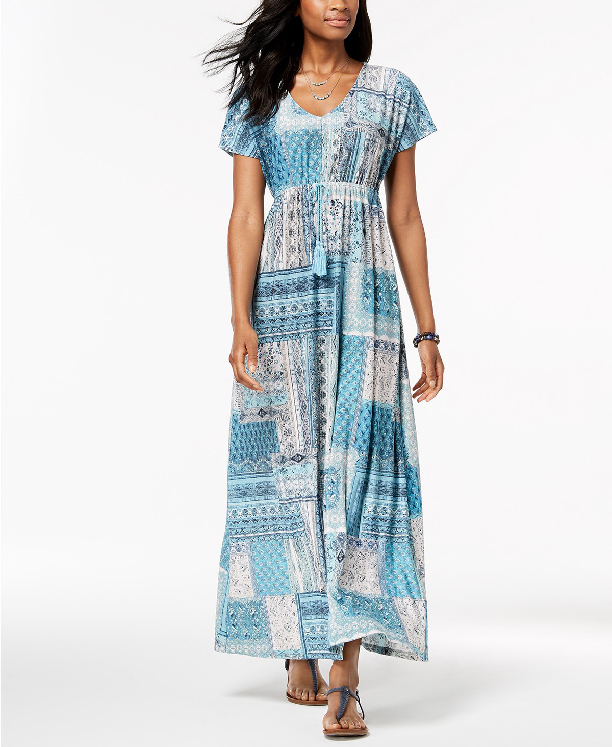 Macys Sell: Need An Easy Summer Dress? This Comfy Maxidress Is On Sale