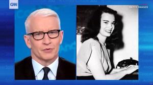 Anderson Cooper: Gloria Vanderbilt Died After Stomach Cancer
