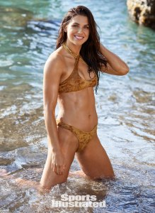 Alex Morgan Women's Soccer Team Sports Illustrated Swimsuit