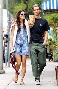 Andrew Garfield Dating Model Christine Gabel