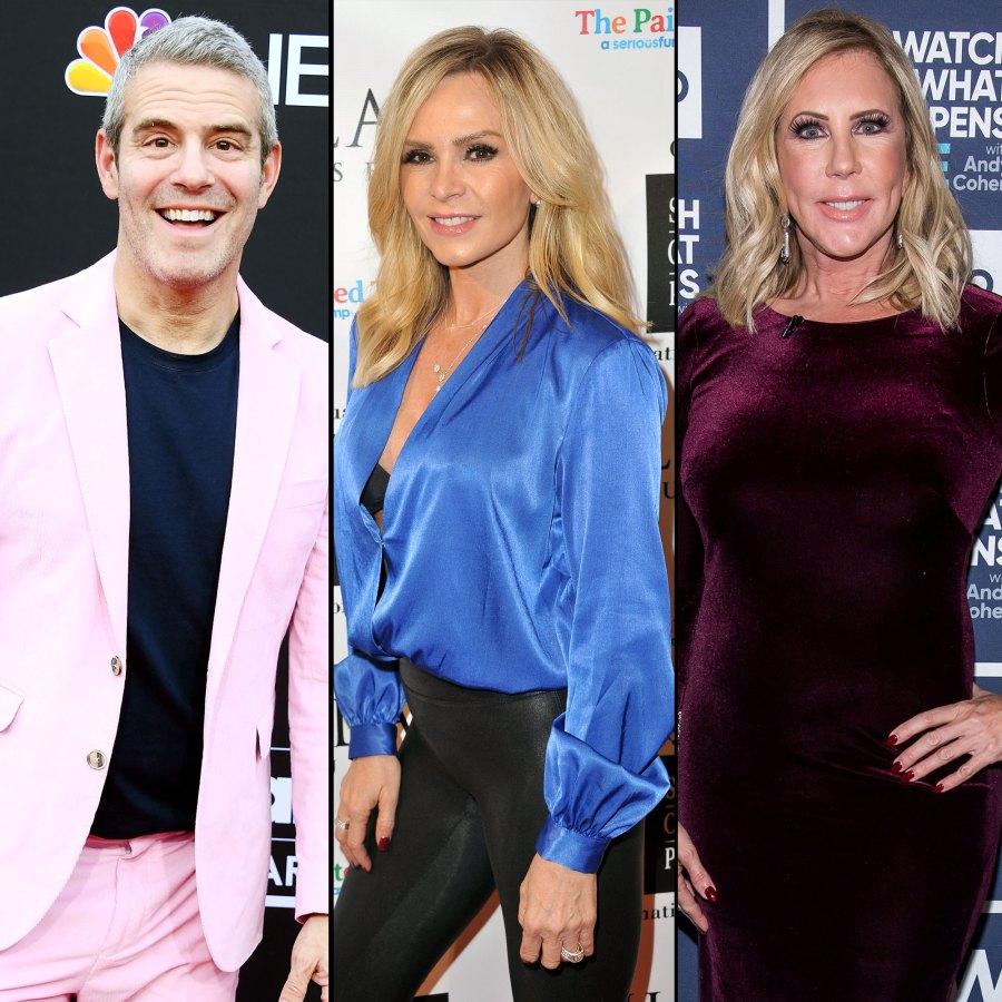 Andy Cohen, Tamra Judge and More React to Vicki Gunvalson's 'RHOC' Demotion-main