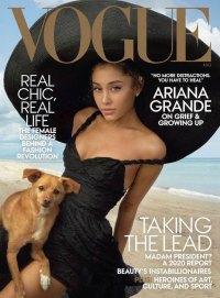 Ariana Grande Breaks Down During 'Vogue' Interview