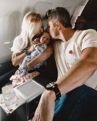 Arie Luyendyk Jr. Lauren Burnham Alessi First Plane Ride