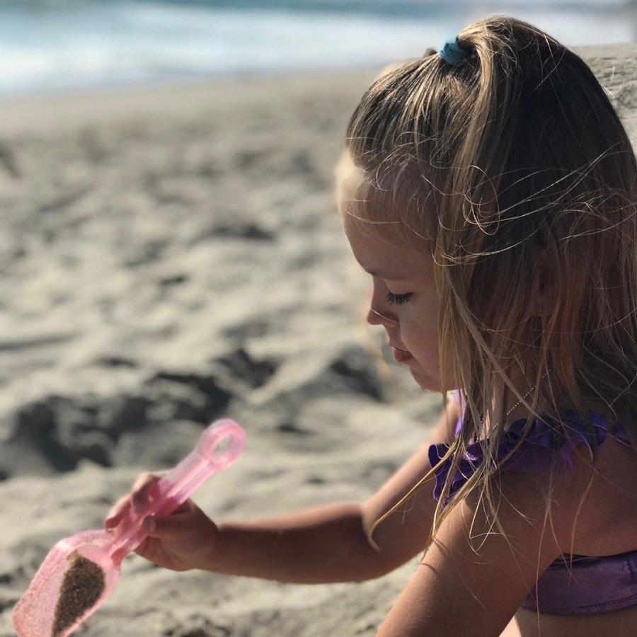 Audrina Patridge Kirra Family Vacation